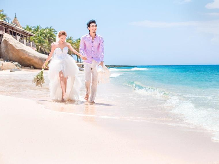 唯美海景婚纱照 分界洲岛超值优惠套餐