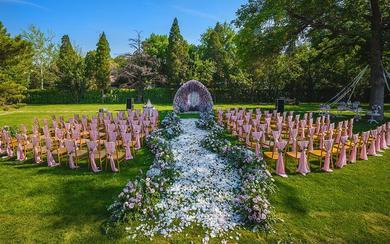 情深意重 | 繁花户外草坪婚礼