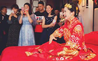 武汉婚礼跟拍纪实摄影首席单机位缘梦摄影上门拍摄
