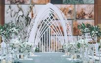 【sunny喜铺】弗洛伦萨—室内明场鲜花婚礼