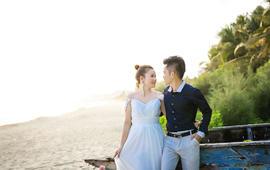 三亚原素物语旅拍婚纱照《小燕南飞》高少伟&刘付燕
