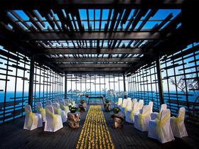 巴厘岛爱丽拉空中婚礼套系(明星钟镇涛婚礼场地)