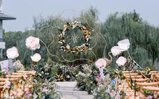 【沐堇婚礼企划】梦中的爱丽丝 户外婚礼
