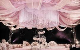 长沙婚庆圣洁婚庆新人口碑款 超炫婚礼现场