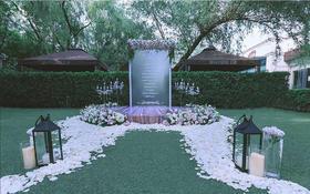 【兰亭婚礼】白绿色室外婚礼
