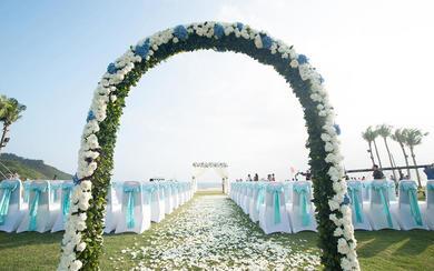 「草坪婚礼」神州半岛喜来登酒店 半岛之恋