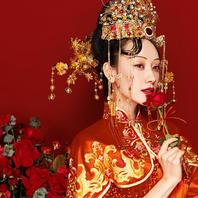 < 汉式婚服>| 中国风+底片全送+10服10造