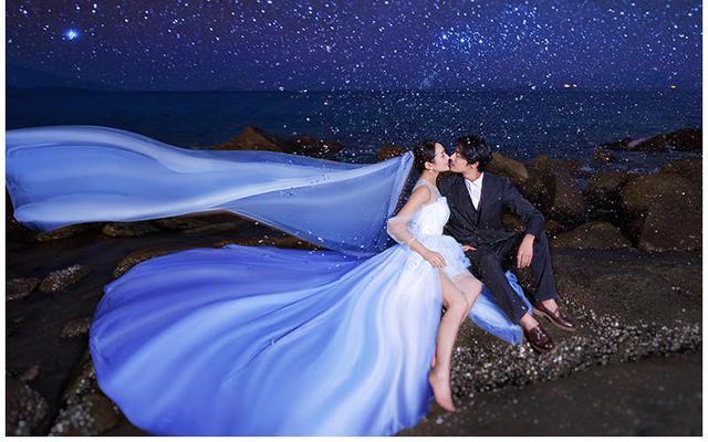 韩式高定系列婚纱照   挪娅婚纱摄影出品