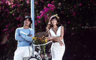 【天美-青岛旅拍】春天花海八大关街拍城市旅拍