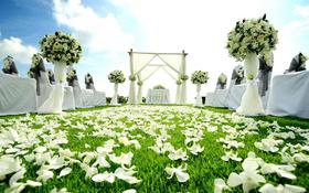 汉邦剪裁摩登新郎户外婚礼系列
