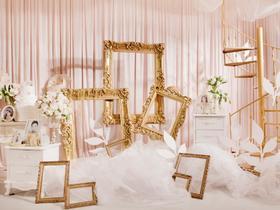 欧式白色羽毛主题婚礼-----微光