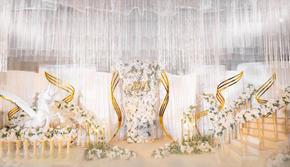 【华丽演绎】香槟金+梦幻浪漫轻奢主题婚礼