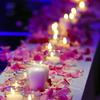 有婚礼引路 用的是蜡烛吗 都说不太安全 可又特别喜