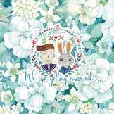 毛毛的创意婚礼筹备之准备结婚请柬和婚礼logo