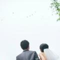 户外湖畔婚礼筹备经验 一同放飞气球