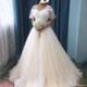 娇小新娘婚纱穿不住 新娘真人展这几款保证出彩!