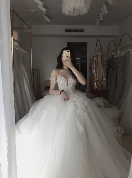 👉🏻梨形身材集美们 我吐血安利你们的婚纱