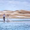 青海湖旅拍婚纱照 人间仙境不为过