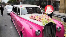 【劳斯莱斯】银云复古老爷车/1辆