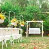 美式乡村风婚礼 自家后院也能办出高逼格