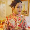 #中式造型#简约头饰也能衬出喜庆 太赞啦!