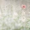 一场特别的婚礼,白色、灰色加上粉粉的小花~