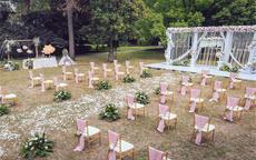 粉色草坪婚礼策划流程指南6步走