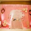 跟大家分享一下,我的粉嫩嫩的婚礼~