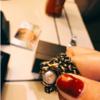 首饰要选个性的 gucci虎头珍珠戒指
