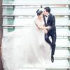 办了两场婚礼 传统中式与西式教堂