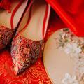 大婚2双鞋便宜不累脚  抖音同款马来褂华丽出嫁