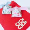 三角缎带喜糖盒 淘了很久终于找到一款满意的!