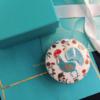 Tiffany 鸡年纪念骨瓷珠宝盒  新意十足