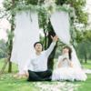 心心念念的草坪订婚仪式,日系萌妹和大叔的爱情仪式
