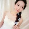 美美的韩式小公举新娘妆 编发太复杂