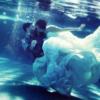 创意水下婚纱照