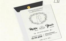 欧式婚礼请柬范文及请帖模板