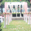 欧式花园来场与浪漫草坪婚礼+ 强大证婚人