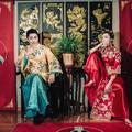 #中式婚纱照#无意蹭拍的中式婚纱 竟意外的让人惊叹 ❤️