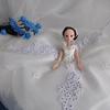 DIY签到台新娘摆件 送给闺蜜的礼物美到窒息