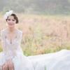 【婚礼纪录】纯白色婚礼现场 田埂上直接拍时尚大片