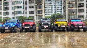 【Jeep】牧马人/1辆 + 【JEEP】牧马人*4辆