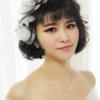 最爱日系!春日暖橘色妆容,短发也可以很好看哦