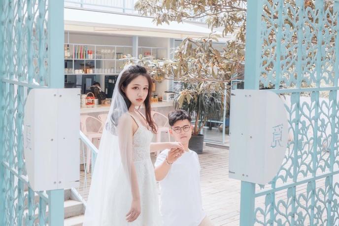 继自己拍婚纱照后。。【DIY属于自己的梦幻婚礼】