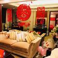 精心的婚房布置,中式西式都精彩