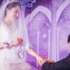 拿到婚礼跟拍全图啦 晒晒我的紫色梦幻婚礼