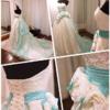 蒂芙尼蓝婚纱与我的晒蒂芙尼婚礼