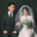 COS双宋的韩式婚纱照,都来晒晒韩式婚纱照吧!