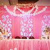 就是钟情粉色系  婚礼布置少女风