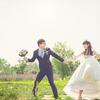 和老公的草坪婚礼,变身韩剧小清新思密达~